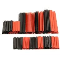 Heat Shrink Tube Set - Black - 7 Size - 117 pcs