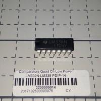 Comparators LM339N LM339 LM 339N 339 PDIP14 Quad Channel OP AMP