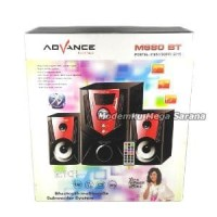 Speaker Advance M680 BT Bluetooth, Radio FM + Remote FREE ONGKIR