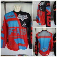 Kaos Jersey Motor Premium/ Kaos Biker Balap Sepeda Trail Murah Red KTM