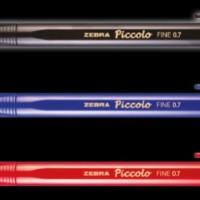 Harga sale pulpen picolo zebra tinta hitam merah biru super smooth   antitipu.com