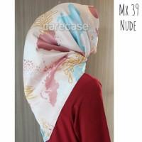 NEW !!! Kerudung Maxmara Hijab Jilbab Scarf Vanilla