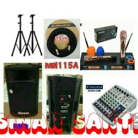Murah Paket Sound System BMB + Mixer Soundcraft EFX 8/4 Murah