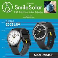 Q Q Smile Solar New Edition 2015 Classic Watch Berkualitas