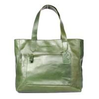 Tote Bag Kulit Tanaka Green