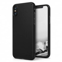 Case iPhone X Rearth Ringke Slim Hardcase iPhone X Case - Black