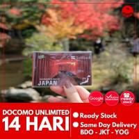 Unlimited Docomo Sim Card Japan 14 Hr, Simcard Jepang Unlimited Docomo