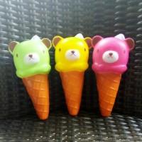 Medium Candy Color Rilakkuma Ice Cream Cone Squishy