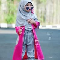 baju anak Surabaya I busana muslim anak online I gamis anak I Gisela