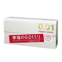 Sagami 0 01 ORIGINAL 5 pcs Kondom tertipis di dunia