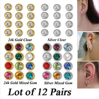 Anting Tindik Bayi Merek Studex Original USA - Size Mini