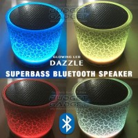 Dazzle Mini Bass Portable Bluetooth Speaker with TF card slot .
