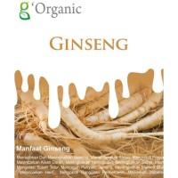 G ORGANIC GINSENG BUBUK 100GRAM