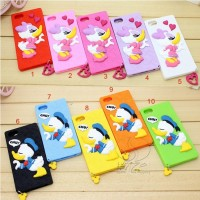 Cute Donald Duck TPU Case Samsung Galaxy S5 Softcase Soft Silikon HP