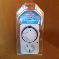Kenmaster Stop Kontak Timer Listrik Manual Analog 24 hours programme