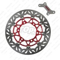 Harga piringan rem cakram disc brake titanium psm tiger lama 32 cm | Pembandingharga.com