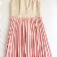 Sissae Qipao Cheongsam Dress - Pink Polkadot Size M - NBU