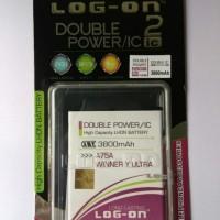 Baterai Log On Evercoss A75A / Winner Y Ultra Double Power IC Batre