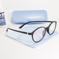 frame kacamata minus antiradiasi pria wanita hitam doff 225 f65fa3efd8