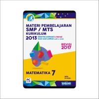 CD MATERI PEMBELAJARAN MATEMATIKA SMP-MTS KELAS 7