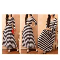 Shoppaholic Shop Maxi Dress Muslim Salur / Dress Muslimah / Hijab Musl