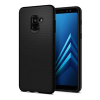 Spigen Liquid Air Samsung Galaxy A8 Plus A8+ 2018 Case ORIGINAL BLACK