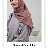 Hijabenka - Diamond Pearl Lilac by Zaco Hijab