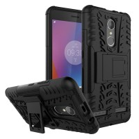 Hard Soft Case Lenovo K6/K6 Power Casing HP Silikon Armor Stand Cover