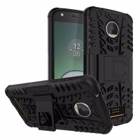 Hard Soft Case Motorola Moto Z Play Casing HP Armor Stand Silikon 3D