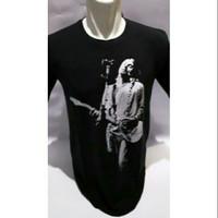 baju tshirt kaos nirvana kurt cobain rock n roll keren