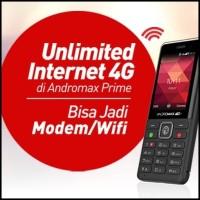 HP SMARTFREN ANDROMAX PRIME 4G LTE BISA JADI MODEM