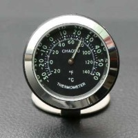 Dekorasi Mobil Termometer Mini Luminous Quartz - CZSZ