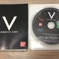 Kaset Game CD Playstation 3 armored core V BEKAS