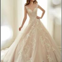 CB XL022 Gaun PENGANTIN Baju Pengantin -Wedding Dress EKOR