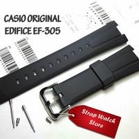 Tali Strap Jam Casio Edifice EF-305 - EF 305 - EF305 Original Free Pen