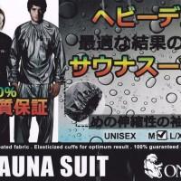 Jaket Celana Baju Sauna Suit OMG OlahRaga Pria Wanita bukan Jas Hujan