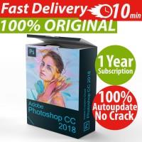 Adobe Photoshop CC 2018 1 Tahun Windows Mac iPhone Android