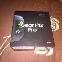 Samsung Gear Fit 2 Pro / Fit2 Pro, BLACK Small, Garansi Resmi SEIN