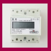 KWH METER DIGITAL 1PHASE / 1 phase /1P XTM75SA LCD FORT din rail panel