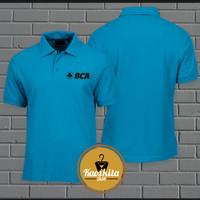 Poloshirt/Kaos Polo Bank Bca Logo Murah