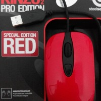 HOTSALE MOUSE GAME STEEL SERIES KINZU V2 PRO EDITION RED EDISI MERAH -