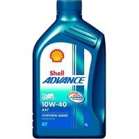 Oli Mesin Shell Advance AX7 10W-40 4T 1 Liter