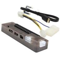 Laptop External Video Card VGA Dock Mini PCI-E V8.0 EXP GDC - Black