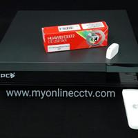 Modem STC 3G 4G USB colok ke DVR CCTV langsung Online