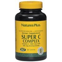 Vitamin C 1000 mg Natures Plus - Super C Complex - 60 Tablets