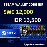 Steam Wallet Code IDR 12.000