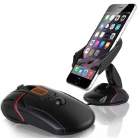 Multifunctional One Touch Car Mobile Phone Stand Holder Mouse Mount HP