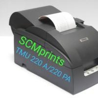 Printer Kasir Bekas Epson TMU 220A TMU 220 PA Auto Cutter TMU-220PA