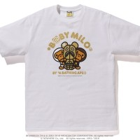 BATHING APE - BAPE X MEDICOMTOY BABY MILO BE@RBRICK BUSY WORKS TEE