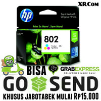 Tinta Tinta hp 802 Tricolor XL untuk Printer hp 1000, 1010, 1050, 1510